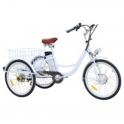 jxcycle Adult tricycle is a design of a bike for the elderly, the elderly can ride adult tricycle to go shopping, fishing, exercise, and so on