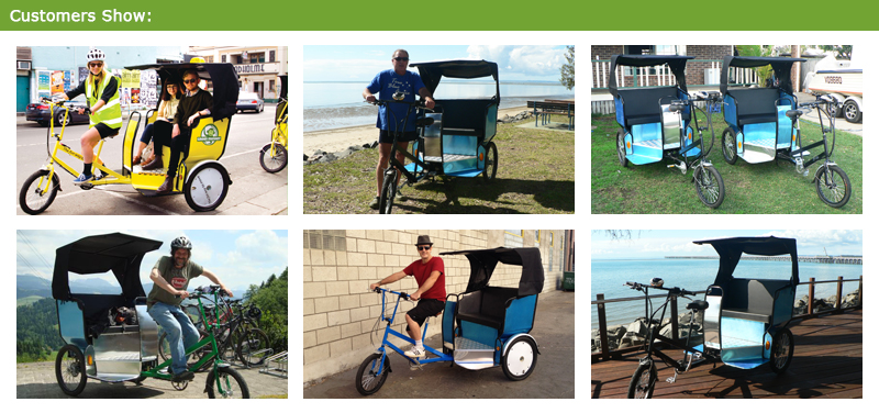 Driving a electric pedicab is a fun way to make a living or to earn extra money as a part time job. The electric pedicab either for yourself or for passenger is very convenient.Making money as a pedicab driver works much the same way as driving a taxi.