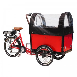 aluminum cargo bike is extremely popular in Europe urban,cargo bike enjoying the ride and communicate with you!For a businessman, you can reach more customers in less time with less effort within your area of business .Also can be used to pick up your groceries, family trips to nature.Deliveries, pickups, take-away, coffee, ice-cream vendors or other.