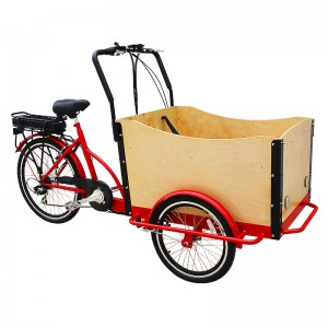 comfortable cargo bike can be used to take kids to school, up to four kids can sit in the front box, enjoying the ride and communicate with you!For a businessman, you can reach more customers in less time with less effort within your area of business .
