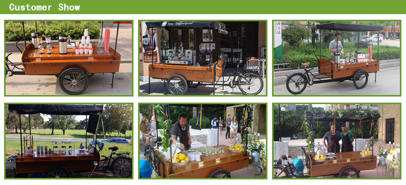 coffee cart bike