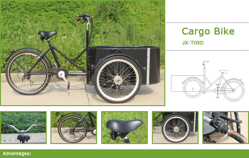Jxcycle cargo bike is the independent research and development production factories in China, are based on research and development production of People's Daily life need.Cargo bike with you like a lot of elements, the quality is very good, is popular with European and American countries.