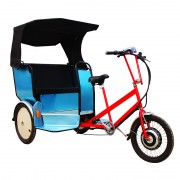 front loading tricycle rickshaw