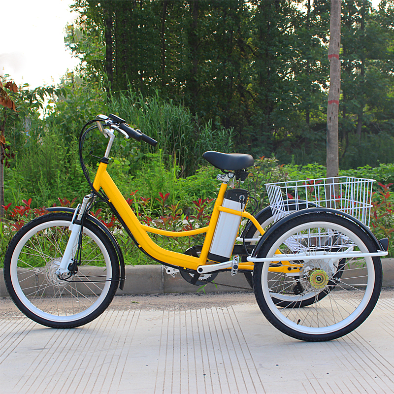 Three Wheel Tricycle With Disc Brake Jxcycle