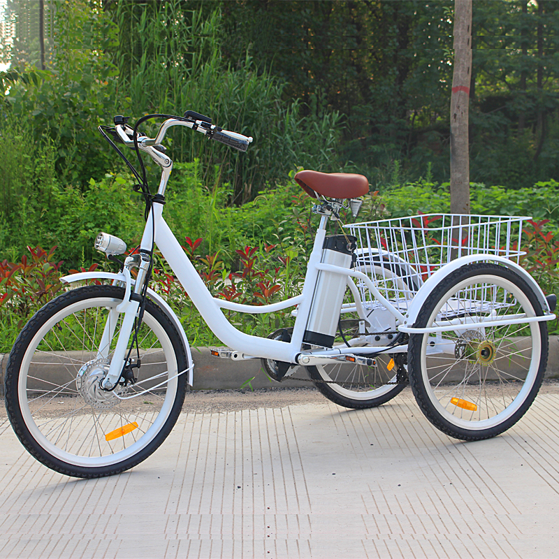 6-speed adult tricycle