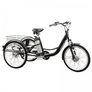 3 wheel bicycle trike is a new type of patrol bike, beautiful fashion, the energy conservation and environmental protection. 3 wheel bicycle trike is popular with European countries.