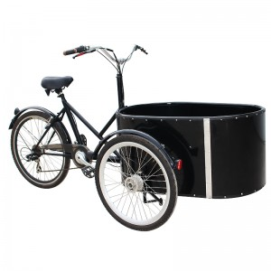 This cargo bike is extremely popular in Europe urban.it,s can be used to take kids to school, up to four kids can sit in the front box, enjoying the ride and communicate with you!For a businessman, you can reach more customers in less time with less effort within your area of business .