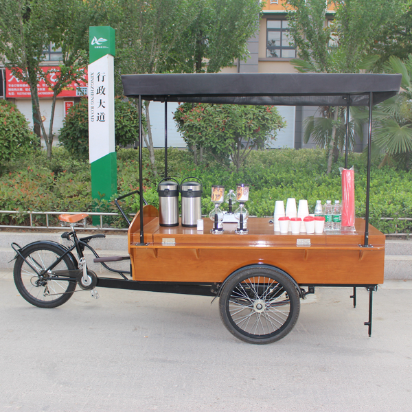 how to build a mobile coffee cart